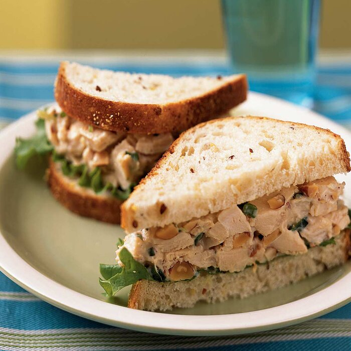 Rosemary chicken salad sandwiches recipe myrecipes rosemary chicken salad sandwiches forumfinder Image collections
