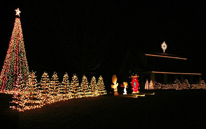the best places to see christmas lights in every state - Mm Christmas Lights