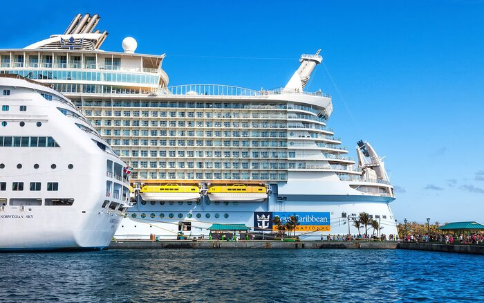 Worlds Biggest Cruises Ship Completes First Trial Travel Leisure - Big cruise ship
