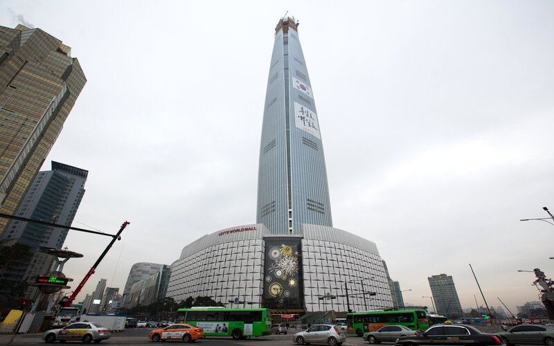 Lotte Corp. World Tower Seoul South Korea
