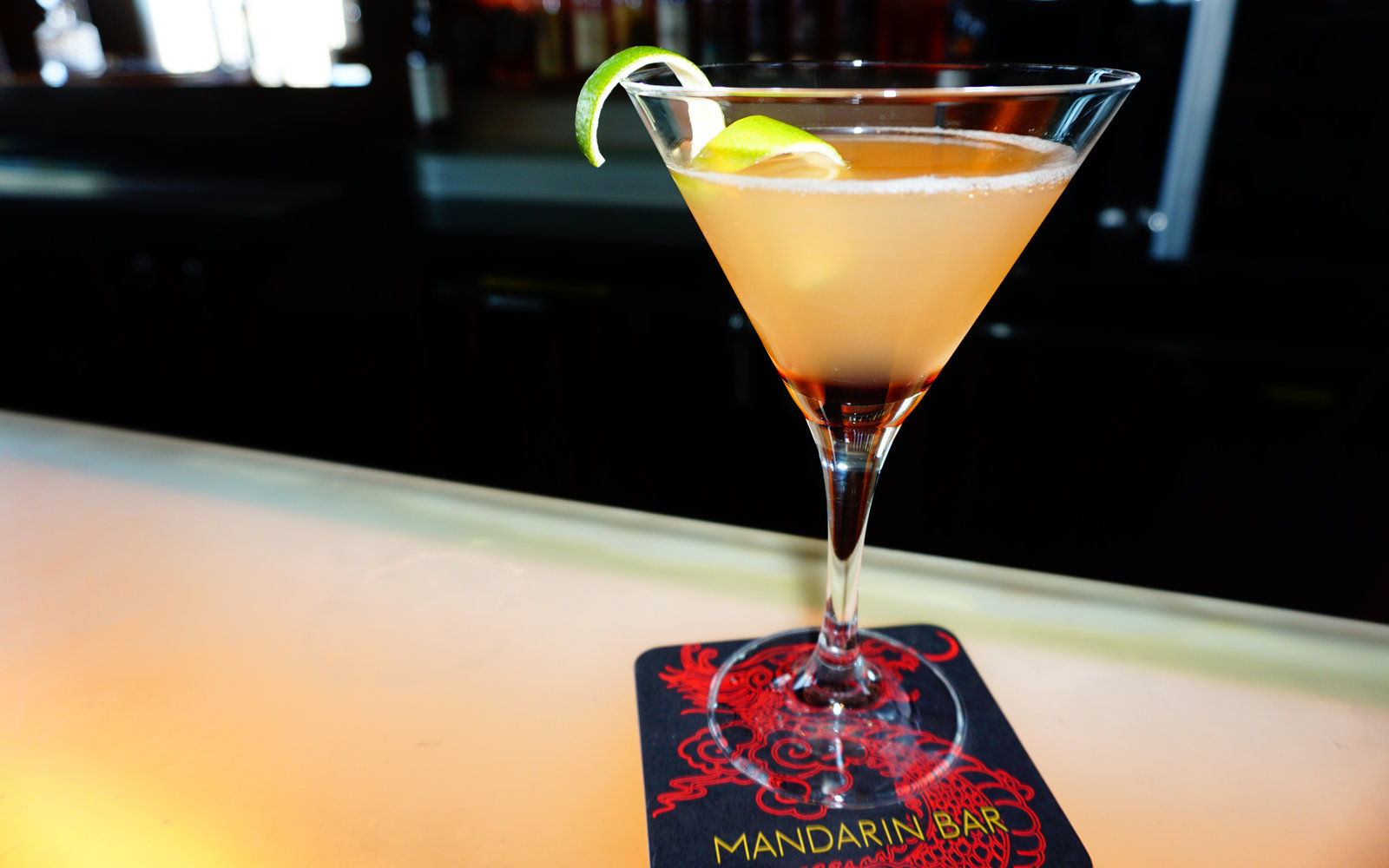 Pineapple Ginger Daiquiri at Mandarin Oriental, Las Vegas