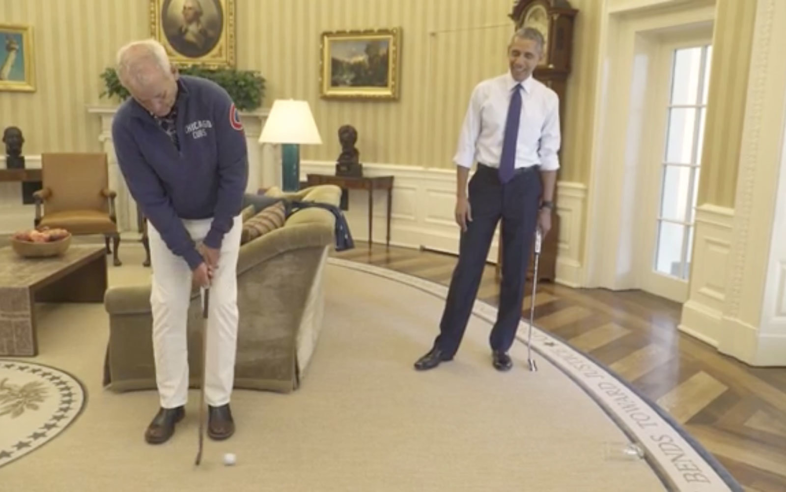 pictures of oval office. Bill Murray And President Barack Obama In The Oval Office. Pictures Of Office
