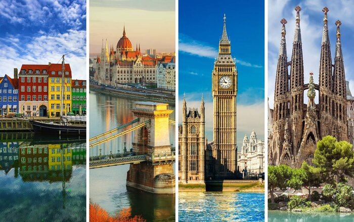 This App Will Help You Effortlessly Plan A Multicity European - European vacation