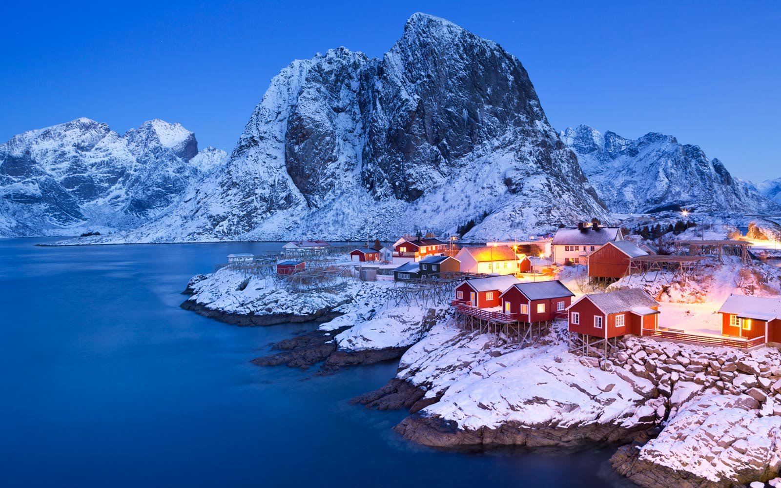 Fisherman's Cabins, Hamnøy, Lofoten Islands, Norway