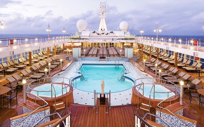 The Worlds Best Midsizeship Cruise Lines Travel Leisure - Kinds of cruise ship