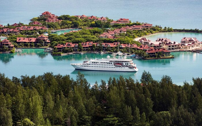 The Worlds Best Smallship Ocean Cruise Lines Travel Leisure - Best small cruise ships caribbean