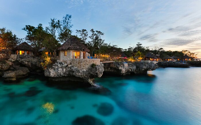 bungalows at rockhouse in negril