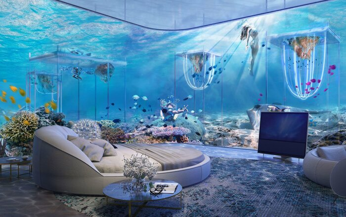 Dubais Crazy New Floating Underwater Resort Is Inspired By Venice