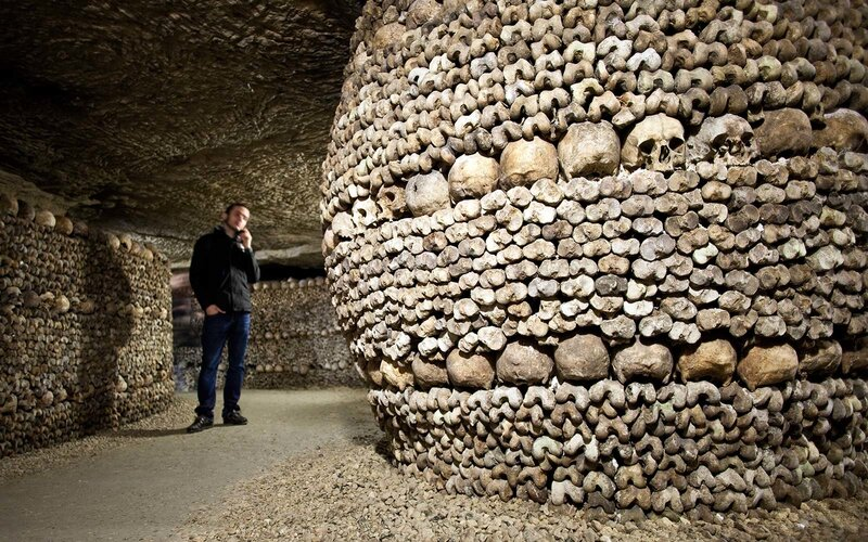 catacombs paris france
