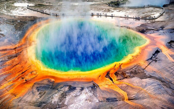 Yellowstones supervolcano could spew ash across the entire us yellowstone sciox Gallery