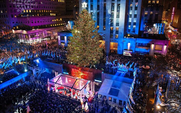 Get a First Look at This Year's Rockefeller Center Christmas Tree ...