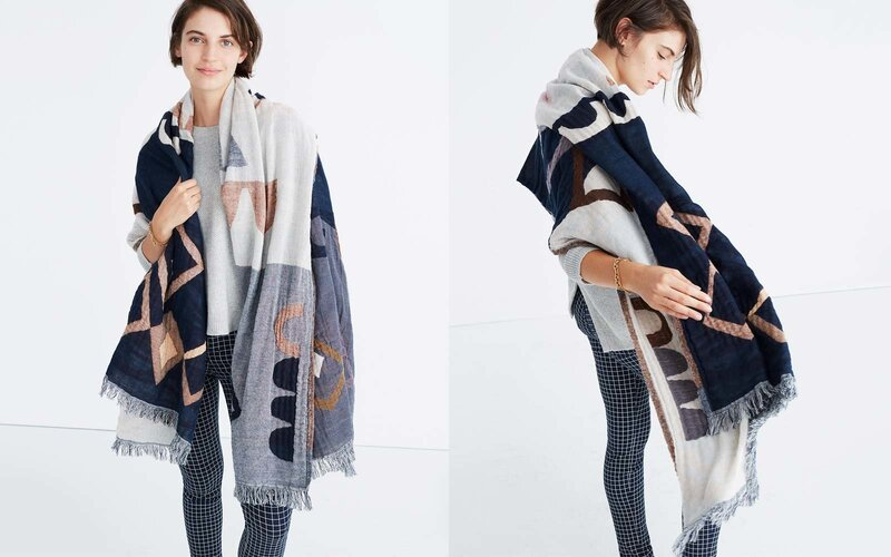 Abstract Pattern Scarf