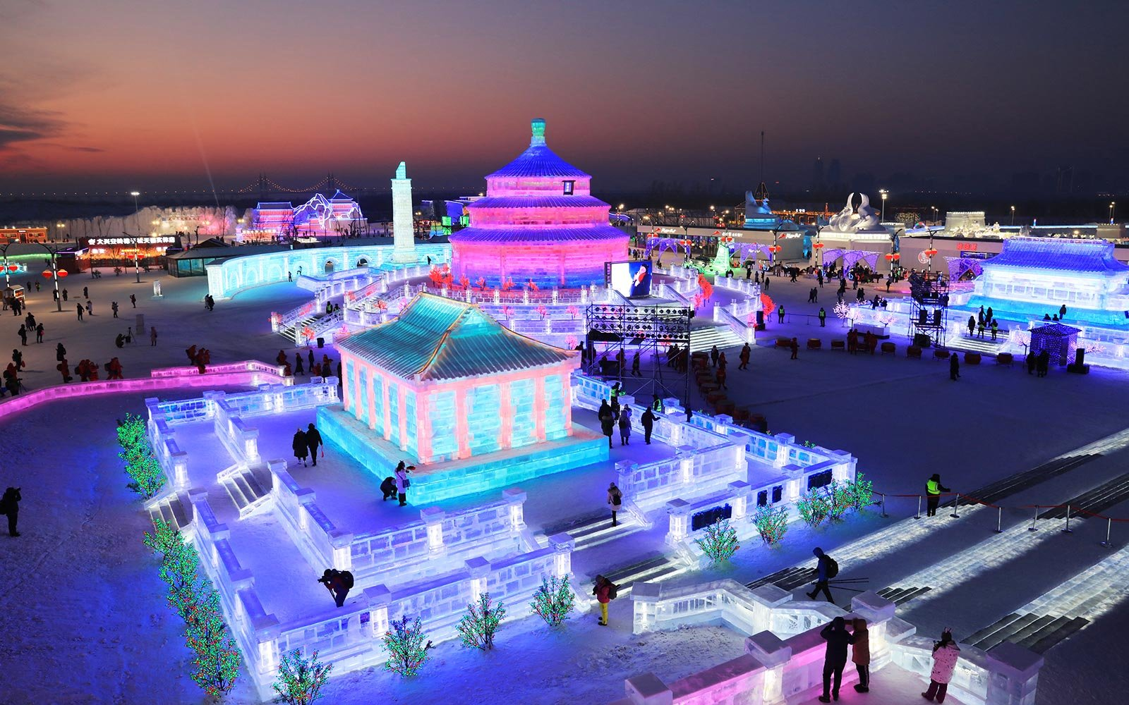 Harbin China Ice Festival