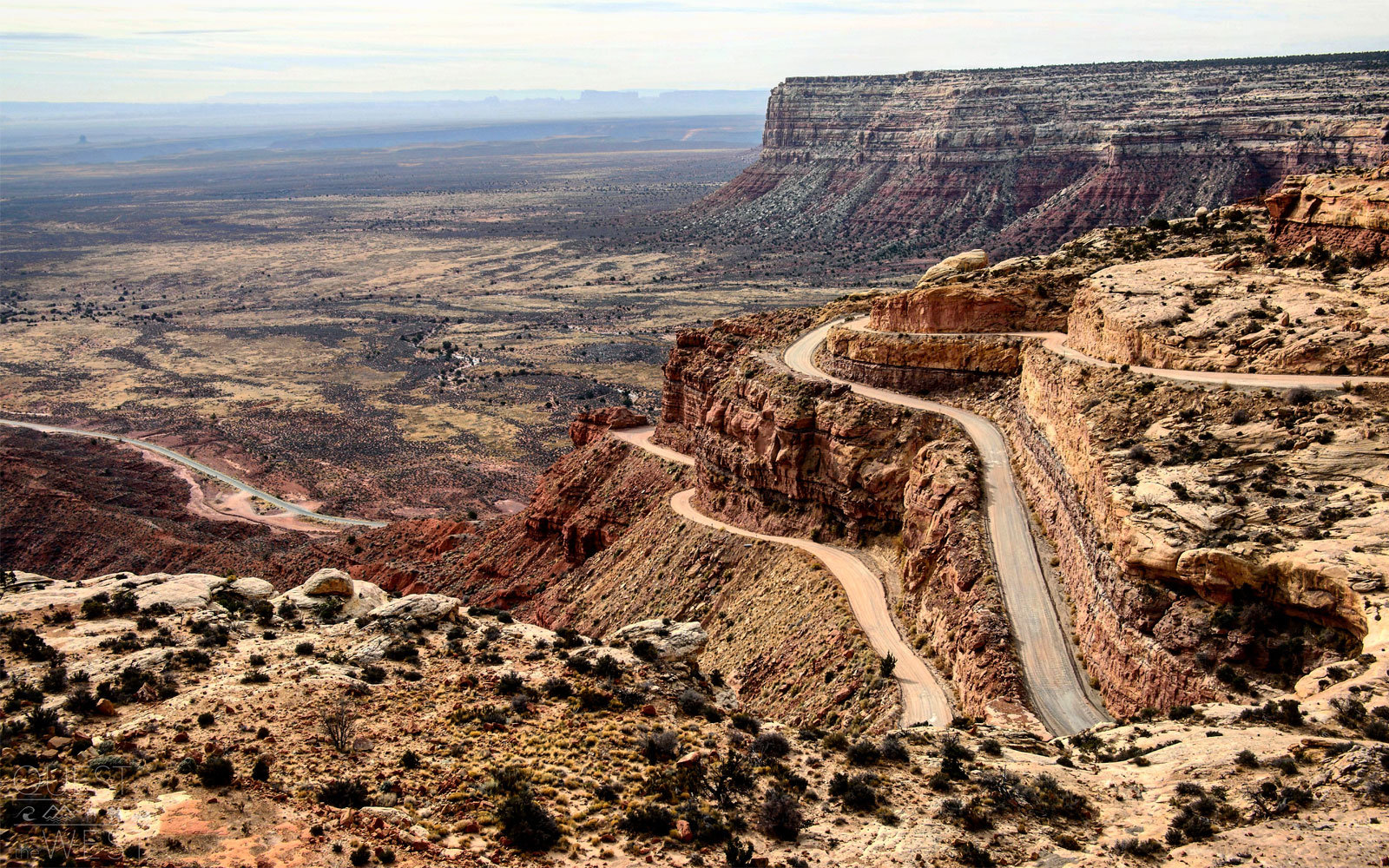 moki dugway valley of the gods