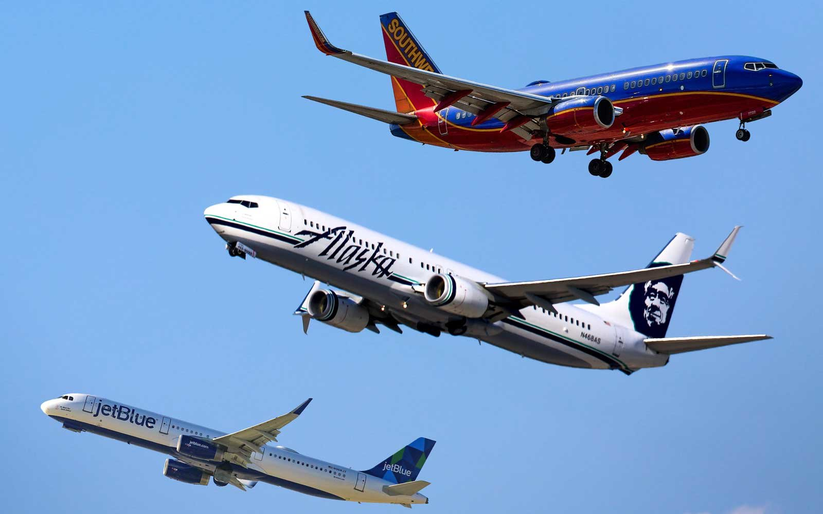 Αποτέλεσμα εικόνας για Southwest and Alaska Airlines top in passenger satisfaction