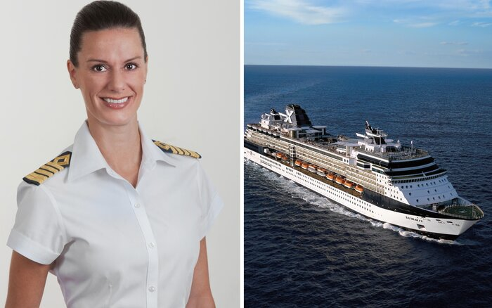 Meet The First American Female Captain Celebrity Cruises Kate - How to be a cruise ship captain