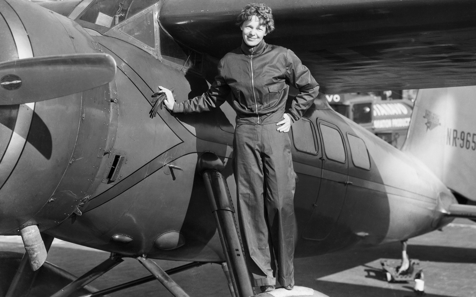 Image result for amelia earhart before last flight