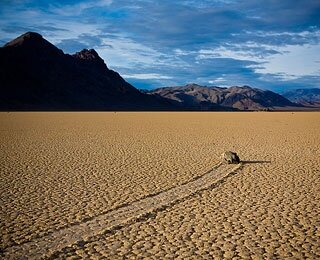 Racetrack Playa, Death Valley National Park, CA