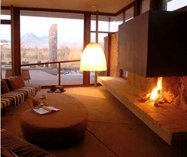 hotels with a fireplace in room. Tierra Atacama  Chile Most Romantic Hotel Fireplaces Travel Leisure