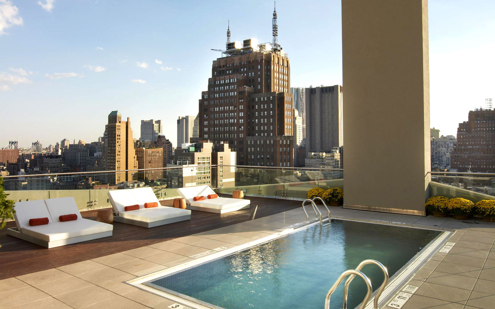 Infinity Pool Chicago hotel pools for non guests travel leisure