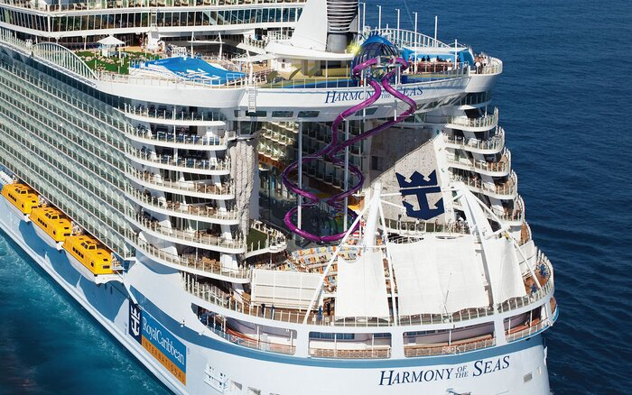 Royal Caribbean Builds Worlds Coolest Ship Slide Travel Leisure - Cruise ship sound effects