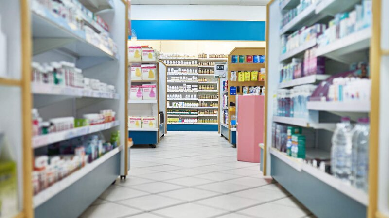 Pharmacy aisle