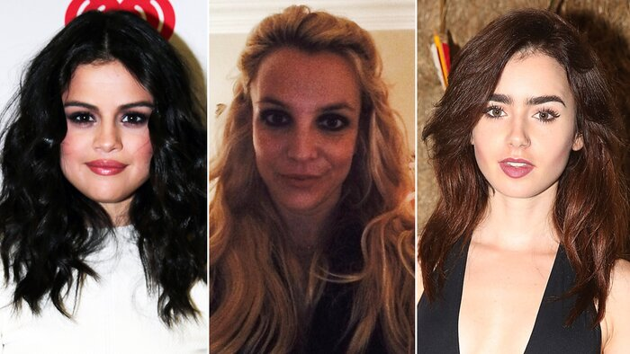 Celebrity hair extensions how selena gomez britney spears lily extensions lead pmusecretfo Image collections
