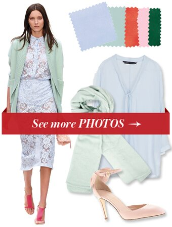 Fashion Trends Cut Out Dresses Without Sleeves Mixed With Pair A Light Blue