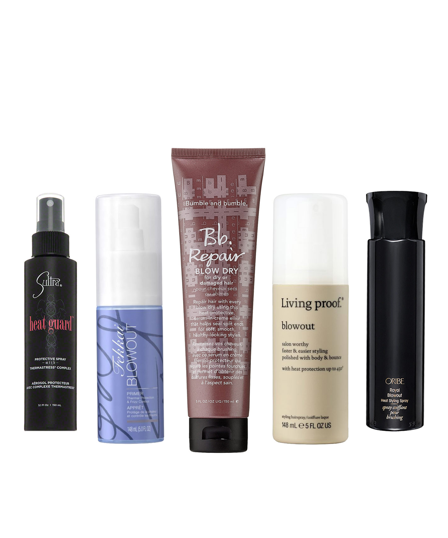Best Heat Styling Products For Fine Hair Fascinating The Best Blowdry Sprays And Creams For Your Hair Type  Instyle
