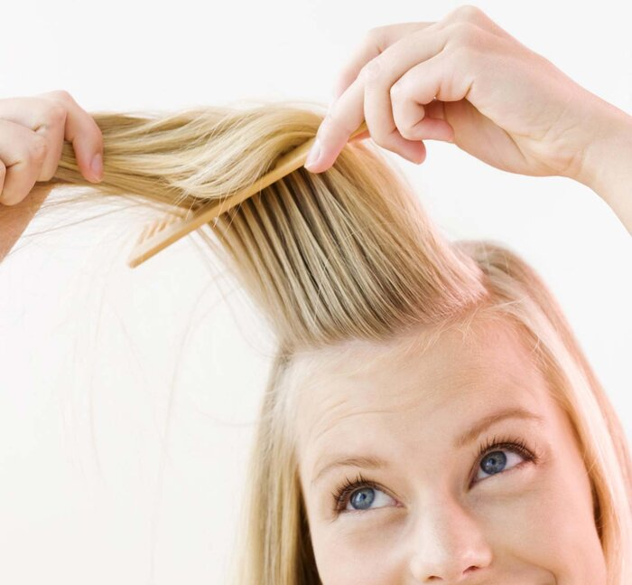 Cowlicks how to get rid of treat and fix them instyle hair cowlick lead urmus Image collections