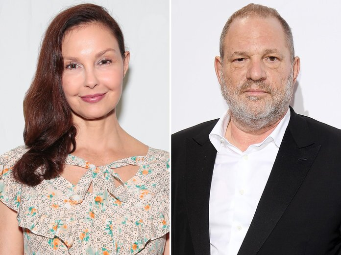 Harvey Weinstein accused of sexual harassment by Ashley Judd
