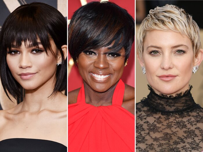 Short Hairstyles With Bangs to Try this Spring | InStyle.com