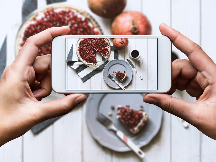 Study sharing your healthy food on instagram makes it taste better forumfinder Gallery