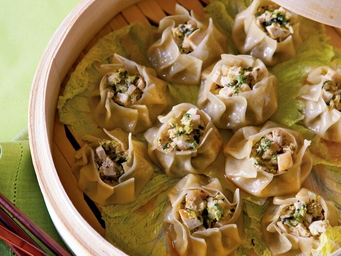 Healthy chinese recipes cooking light steamed vegetable sui mai dumplings recipe forumfinder Image collections