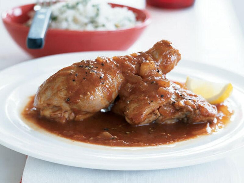 african chicken in spicy red sauce recipe