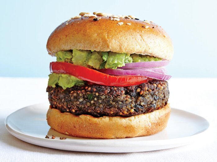21 delicious veggie burger recipes cooking light clean veggie burgers forumfinder Choice Image