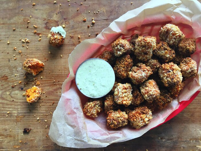 Healthy snack recipes cooking light sweet potato tots forumfinder Image collections