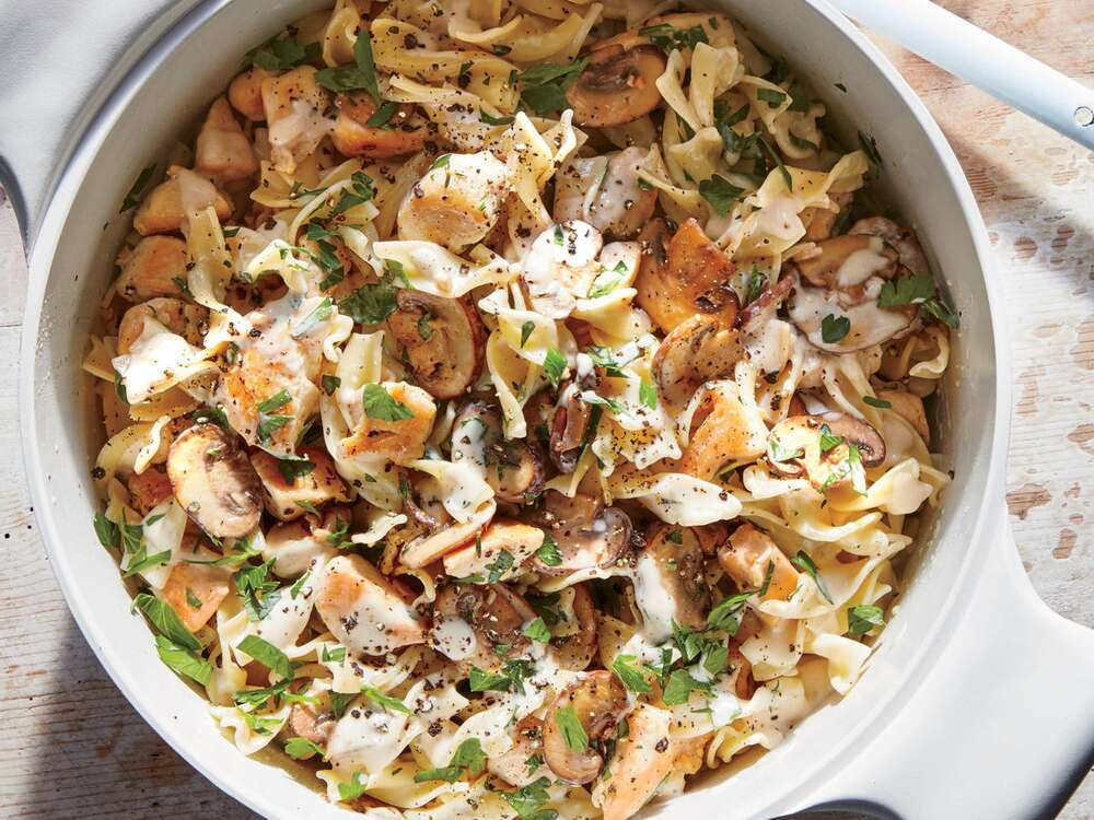 If stroganoff could restore its Russian creators 200 years ago, this chicken version will restore you on any winter weeknight.