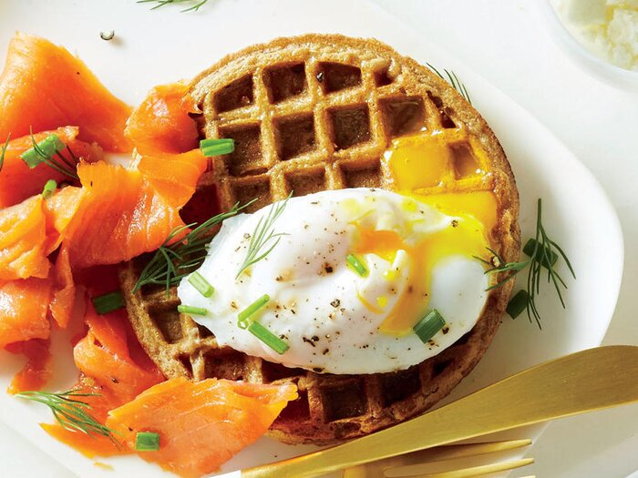 Egg And Nova Whole Grain Waffle
