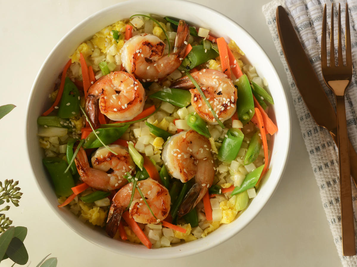 Paleo Shrimp Cauliflower Rice