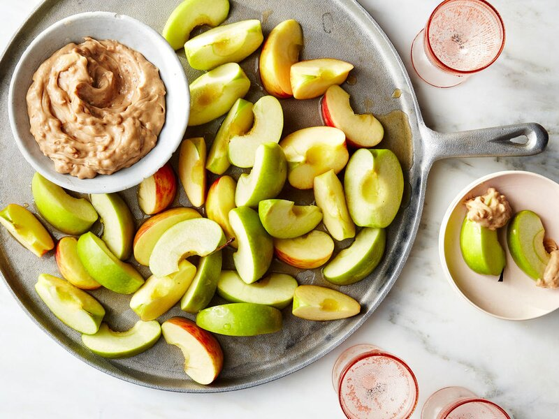 Toffee Dip with Apples