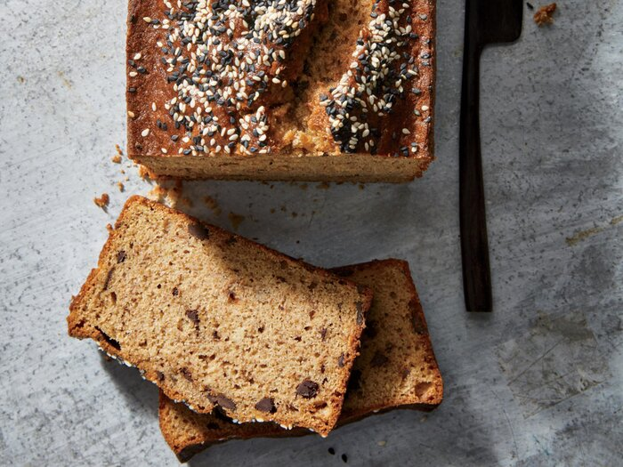 30 best quick bread recipes cooking light chocolate tahini banana bread forumfinder Gallery