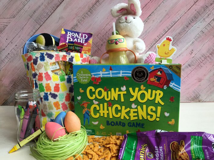 14 ideas for a healthier easter basket cooking light healthier easter basket ideas for kids negle Image collections