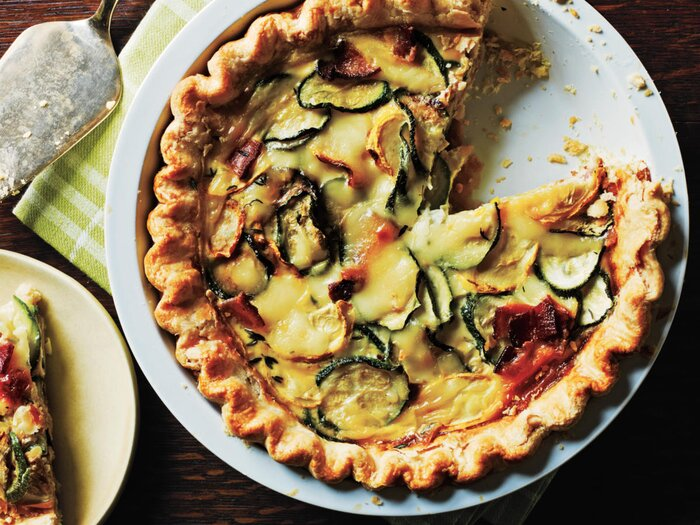 Healthy quiche recipes cooking light healthy quiche recipes forumfinder Choice Image