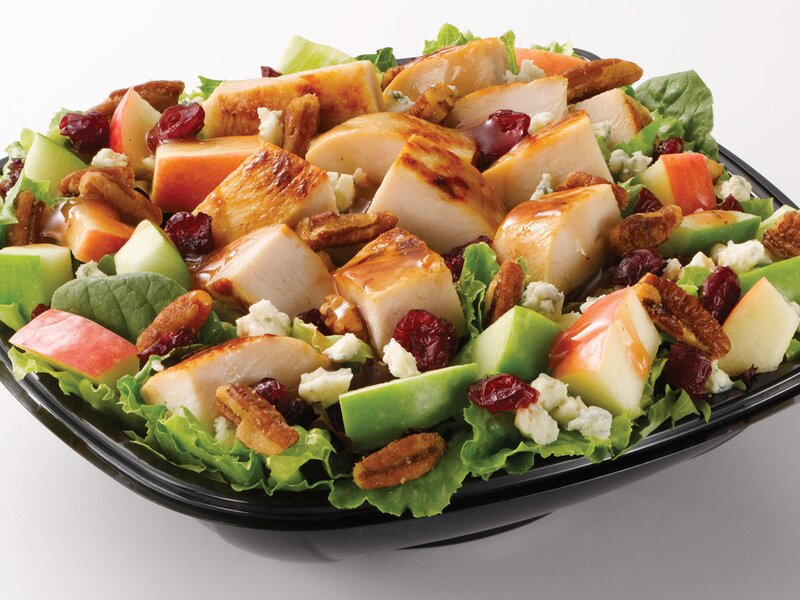 Hungry, Yet In A Hurry….Here Are the Healthiest Fast Food Salads
