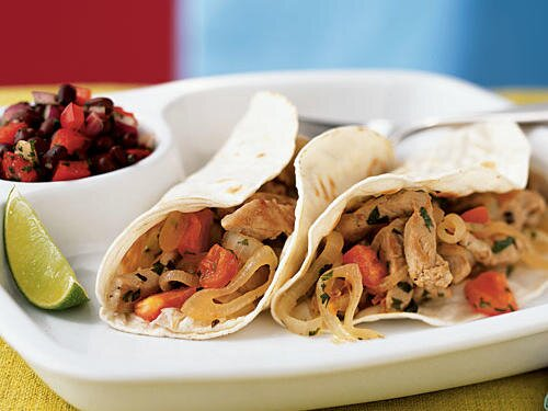 Quick and easy mexican recipes cooking light lime cilantro pork tacos forumfinder Images