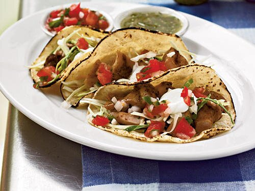 Quick and easy southwestern recipes cooking light soft chicken tacos forumfinder Image collections