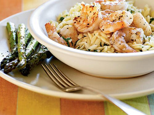 Quick and easy italian recipes cooking light lemon pepper shrimp scampi forumfinder Image collections