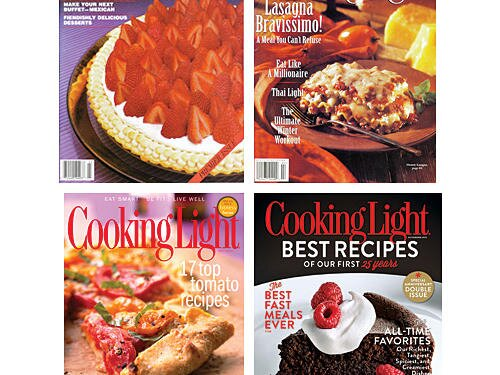 Cooking lights 25 best recipes ever cooking light cooking light covers forumfinder Gallery
