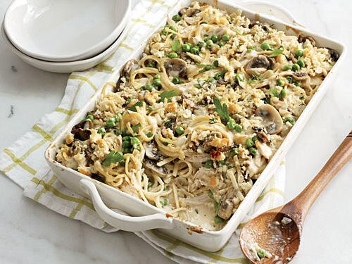 Recipe makeover healthier chicken tetrazzini cooking light taking back tetrazzini forumfinder Image collections
